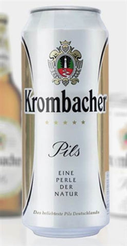 Krombacher Pils Can - 500 ml - 4.8% - Pilsener