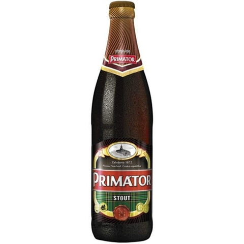 Primator Stout - 500 ml - 4.7% - Oatmeal