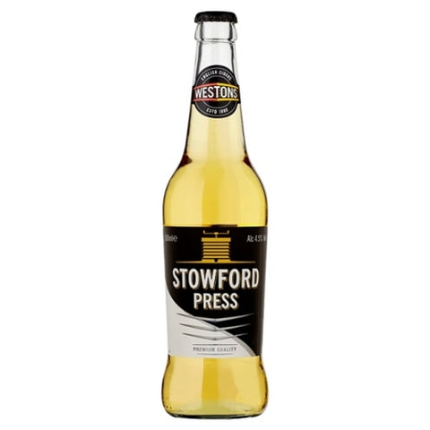 Cider: Westons Stowford Press - 355ml - 4.5% by wishbeer1