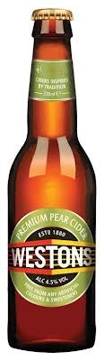 Cider: Westons Premium Pear - 330ml - 4.5% by wishbeer1