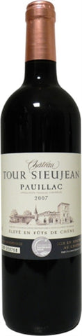 Wine: Chateau Tour Sieujean Bordeaux Pauillac - France - 750ml by wishbeer1