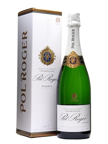 Wine: Pol Roger Brut Reserve Champagne - France - 750ml by wishbeer1