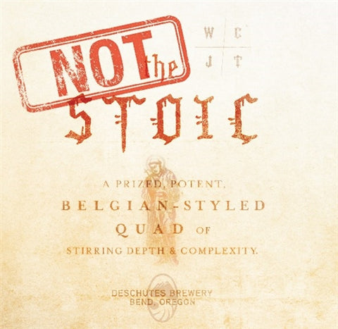 LIMITED - Deschutes Not The Stoic - 650 ml - 12% - Quadrupel