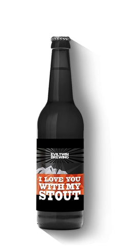Evil Twin Brewing I Love My Stout - 355 ml - 12% - Imperial IPA (India Pale Ale)