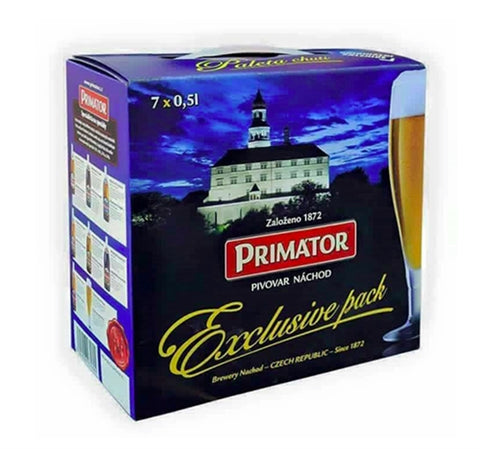 Primato Discovery Set- 7x500 ml and One Glass