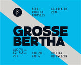 Beer Project Brussels Grosse Bertha - 330 ml - 7%
