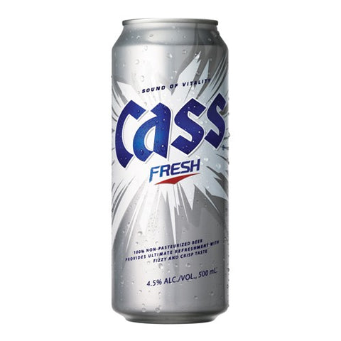Cass Fresh - 500 ml Can - 4.5%