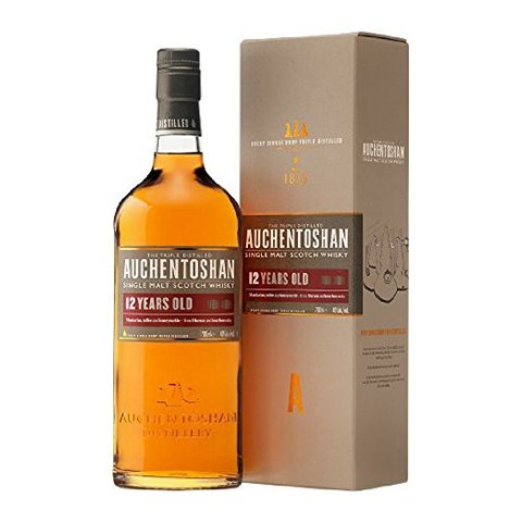 Auchentoshan Single Malt Scotch Whisky 12 YO