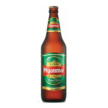 Myanmar Lager Beer - 640ml - 5.0%