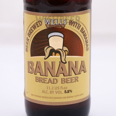 Wells Banana Bread Beer - 330ml - 5.2%