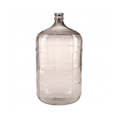 Glass Bubbler - 6.5 gallon sealed lid