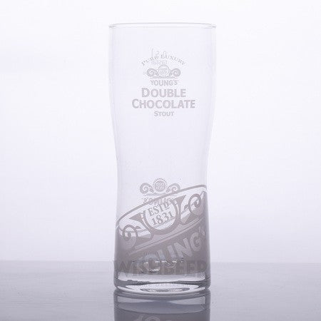 Young's Double Chocolate Stout Glass