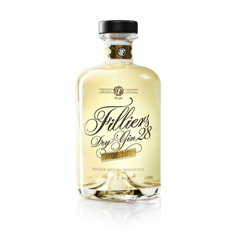 Filliers Dry Gin 28 Barrel Aged 500ml