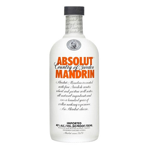 Absolut Mandarin Vodka 700ml