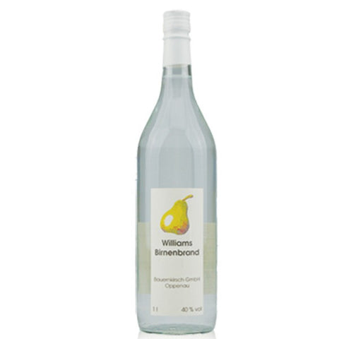 Williams Birnenbrand - Pear Brandy - 1 Litre - 40%