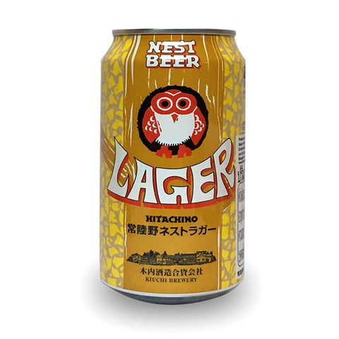 Hitachino Nest Lager - 330ml - 5.0% (Can)