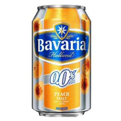 Bavaria Peach Non Alcohol - 330ml - 0.0%