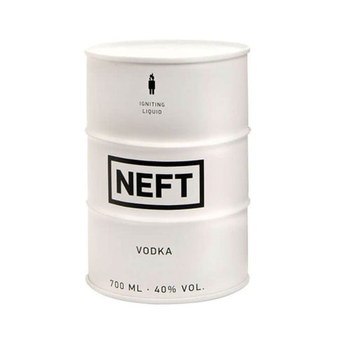NEFT White Finest Russian Vodka - Vodka - 700ml - 40%