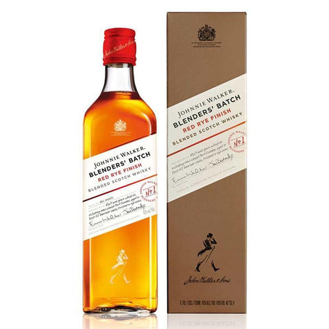 Johnnie Walker Blenders Batch Red Rye Finish Scotch Whisky - 700ml - 40%