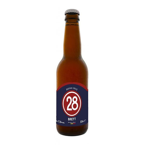 Caulier 28 Brett (Sugar Free) - 330ml - 7.5%