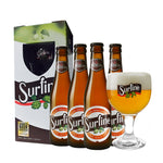 Surfine Belgian Triple Saison Gift Set - 4x 330ml + 1 Glass - 6.5%