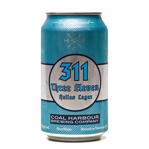 Coal Harbour 311 Helles Lager (Can) - 355ml - 5.0%