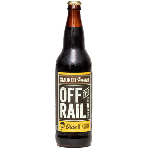 Off The Rail Smoked Porter - 650ml - 5.4%