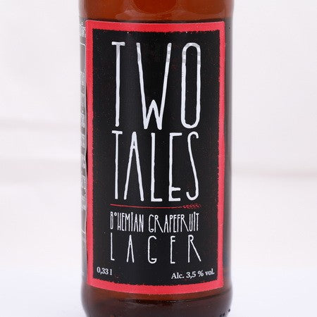 Two Tales Bohemian Grapefruit Lager - 330ml - 3.5%