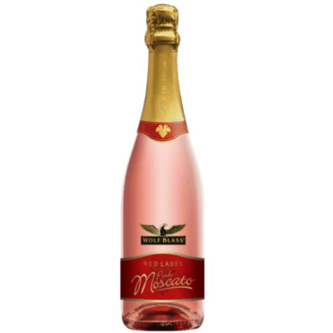 Wolf Blass Red Label Pink Moscato - 750ml - 6.5%