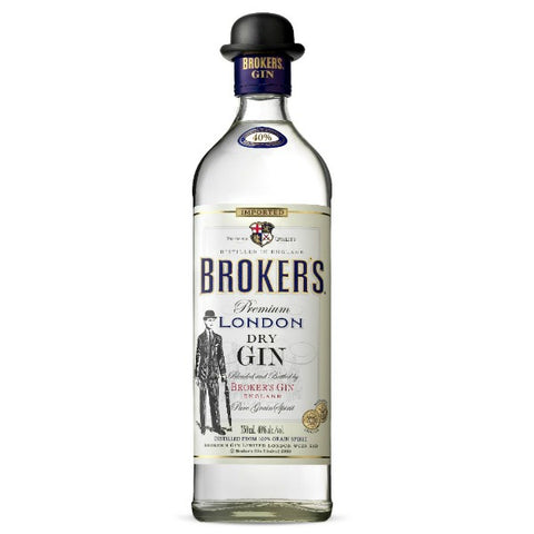 Broker's Gin  - 750ml - 40.0%