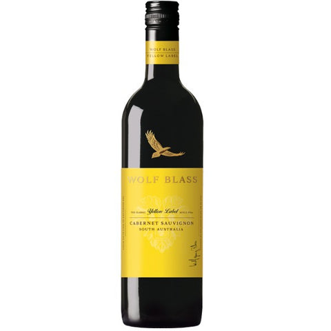 Wolf Blass Yellow Label Cabernet Sauvignon - 750ml - 13.0%