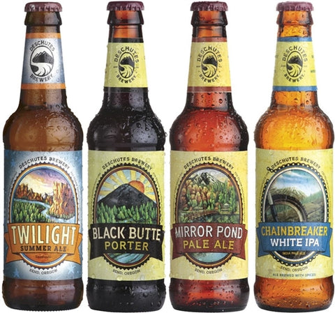 Beer: Deschutes Rediscovery Set - 4x355ml by wishbeer1