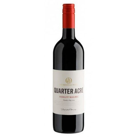 Rod McDonald Wines Quarter Acre Merlot Malbec - 750ml - 14.0%