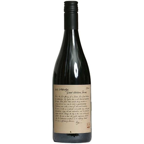 Lethbridge Shiraz Great western - 750ml - 14.5%