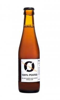 Nogne O 100% Peated *Almost Undrinkabable - 250ml - 8.5% - Smoked Beer