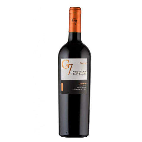 G7 Wines Reserva Carmenere - 750ml - 13.0%