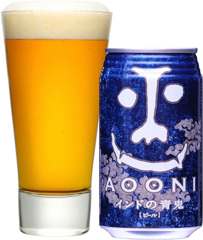 Yo-Ho Brewing -Indo no Aooni - 350 ml - 7% - IPA (India Pale Ale)