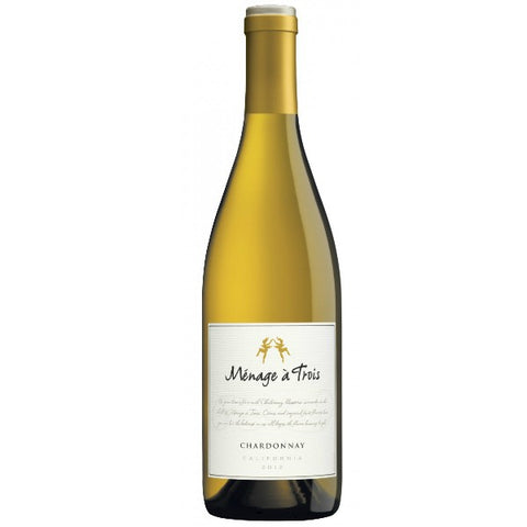 Menage a Trois Wines Chardonnay  - 750ml - 13.6%