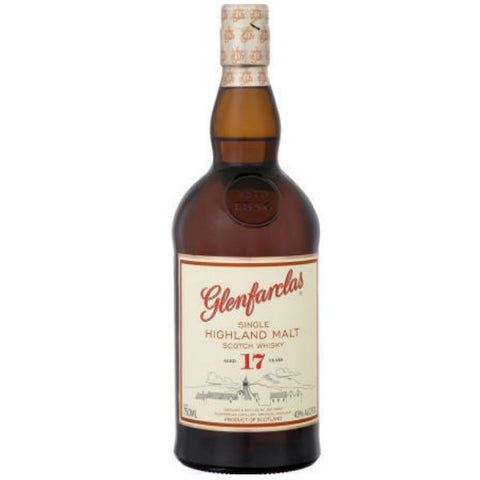 Glenfarclas Highland Single Malt Aged 17 Years - 700ml - 43.0%