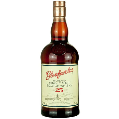 Glenfarclas Highland Single Malt Aged 25 Years - 700ml - 43.0%