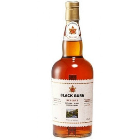 Black Burn Reserve Single Malt Scotch Whisky  - 700ml - 40.0%