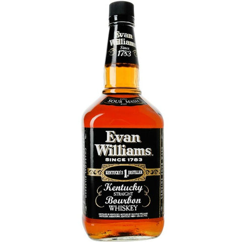 Evan Williams Black Label  - 750ml - 43.0%