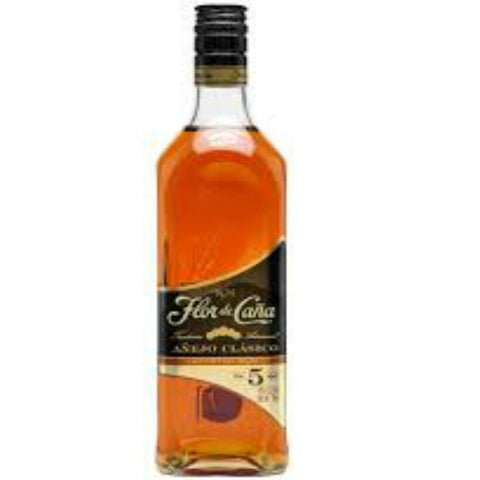 Flor de Caña Extra Dry Slow Aged 5 Years - 700ml - 40.0%