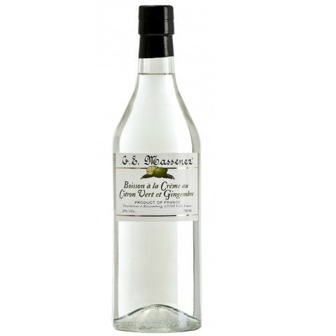 Massenez  Liqueur de Citron & Gingembre (Ginger & Lemon) - 700ml - 20.0%