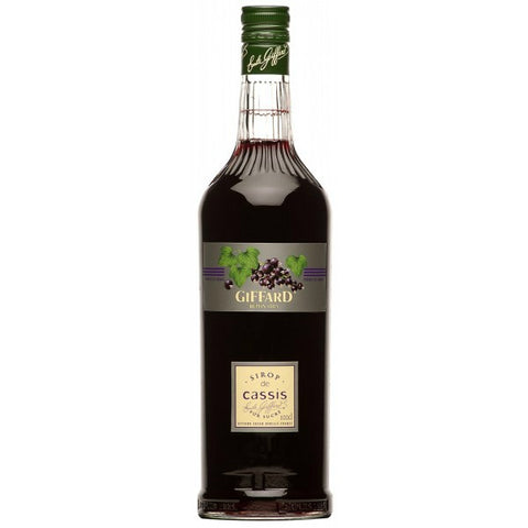 Giffard Syrup Blackcurrant Non Alcohol - 1000ml - 0.0%