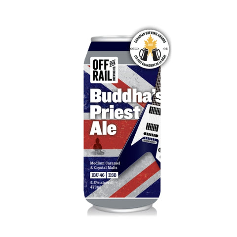 Off The Rail Buddha' s Priest (Can) - 473ml - 5.5%