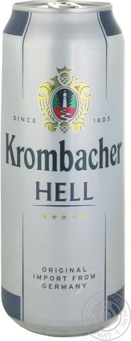 Krombacher hell / lager(Can) - 500ml - 5.0%