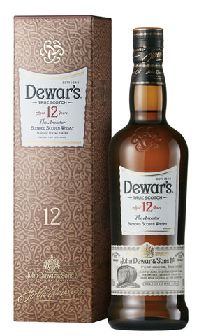 Dewar's 12 Years Old Blended Scotch Whisky - 750ml - 40%