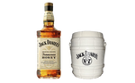 1x Jack Honey Whisky - 700ml - 35% + 1x Jack Daniel Bucket