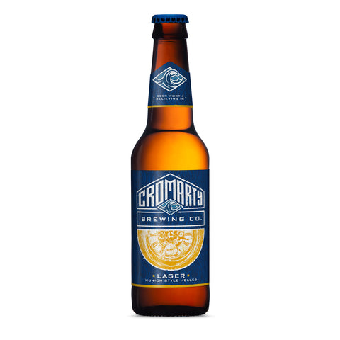 Cromarty Lager - 330ml - 4.4%